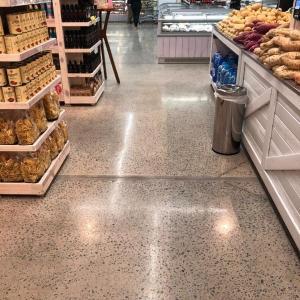 Tratamento de piso de concreto