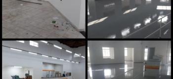 Pintura epóxi piso