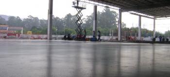 Polimento de pisos