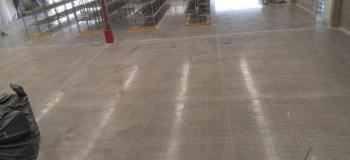 Restauração de piso de concreto